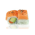 Rainbow Rolls Saumon, Avocat, Cheese