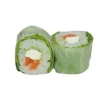 Spring rolls saumon cheese